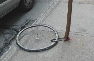 locked-wheel